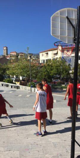 Μπάσκετ στη πλατεία